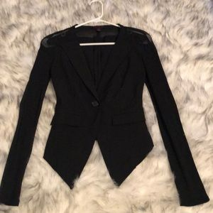 Material Girl Black Blazer
